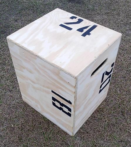 I want a plyo box (this one is 3 different heights) for crossfit, but don't want to spend this much $140