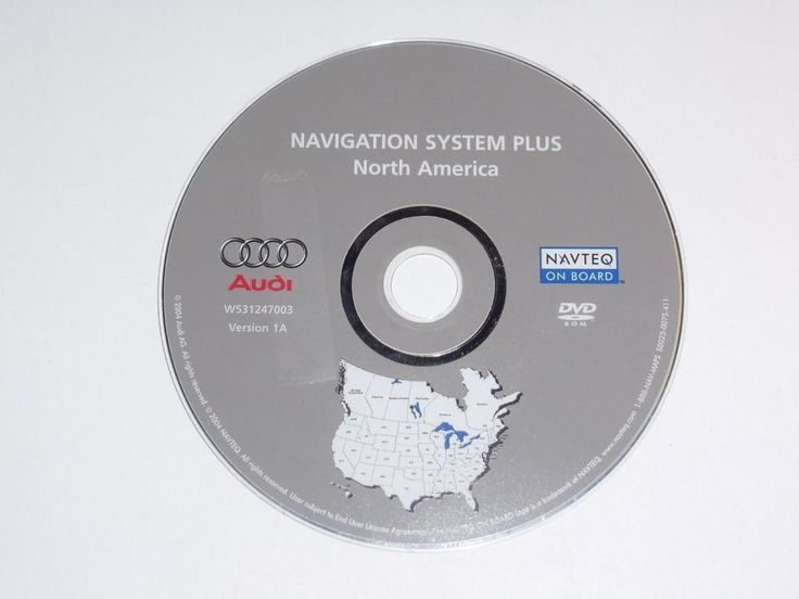 oem audi navigation system map disc dvd w531247003 version. Black Bedroom Furniture Sets. Home Design Ideas