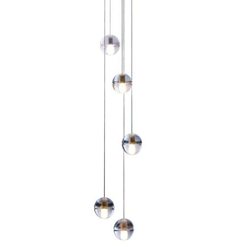 14.5 Five Pendant Chandelier