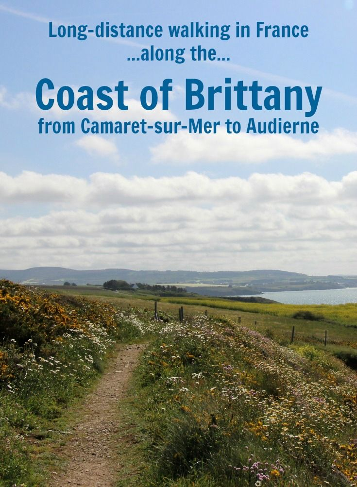 Explore the spectacular coastline of Brittany, France on a twelve-day walk from Camaret-sur-Mer to Audierne along the GR 34 hiking trail.