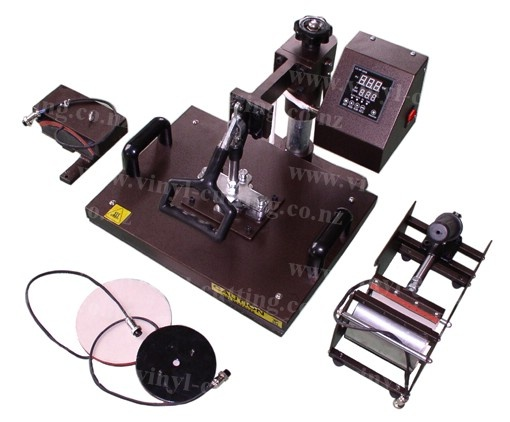 LARGE DIGITAL 4 IN 1 PRESS MACHINE COMBO    Brand New Large Digital 4 In 1 Press Machine Combo Heat Press Machine, Mug Press Machine, Cap Press Machine And Plate Press Machine All In One.