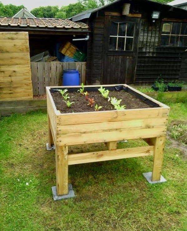 Palets y reciclaje muebles e ideas para reutilizar madera huerto con palets bricolaje Reciclaje de palets de madera