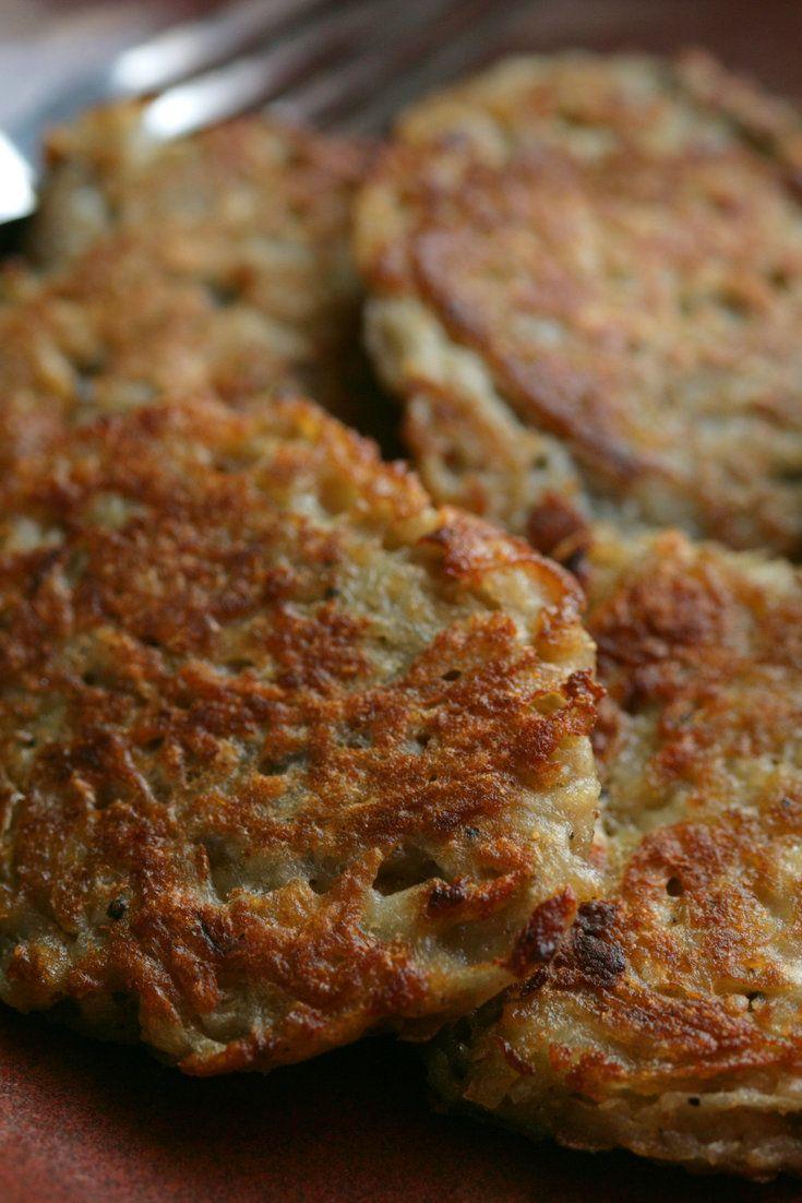 ... Latkes on Pinterest   Jewish potato pancakes, Sweet potato latkes and