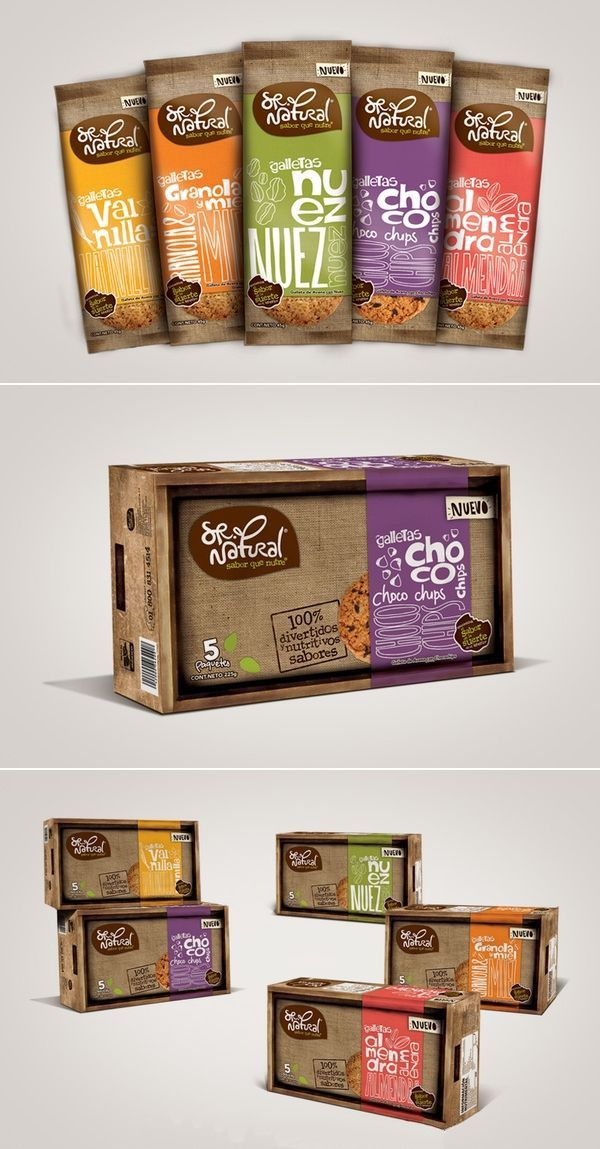Sr Natural. Is a traditional company that produces oat cookies, natural granola and yogurt