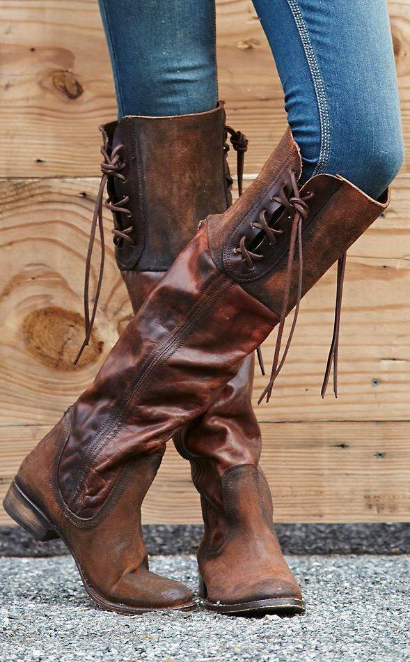 Freebird By Steven Shoreworn Tall Boot Shooooes