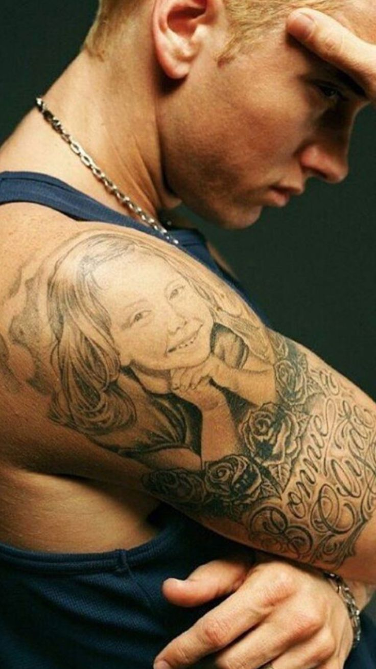 Eminem Tattoos 64 best Artist - Emine...