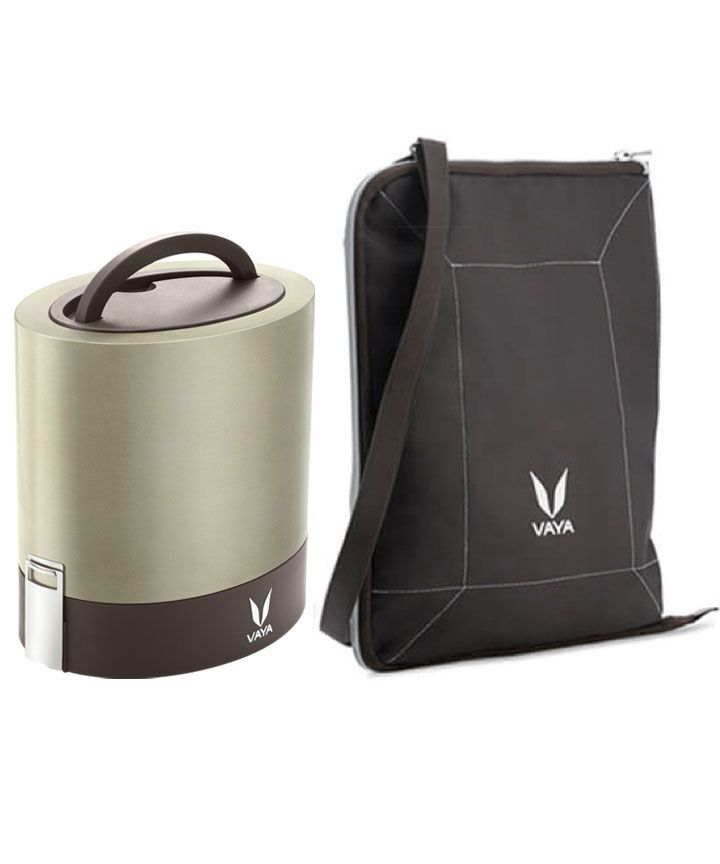 Tyffyn 1000: Buy Tyffyn 1000 ML Stainless Steel Lunch Box Online in India - Vaya.in