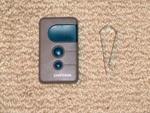 Sears Garage Door Opener Remote Control