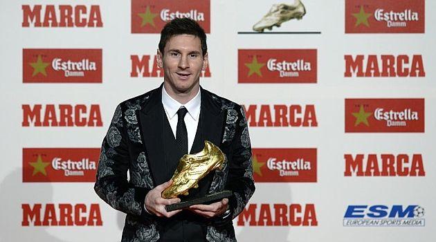 Leo Messi receives its third Golden Boot