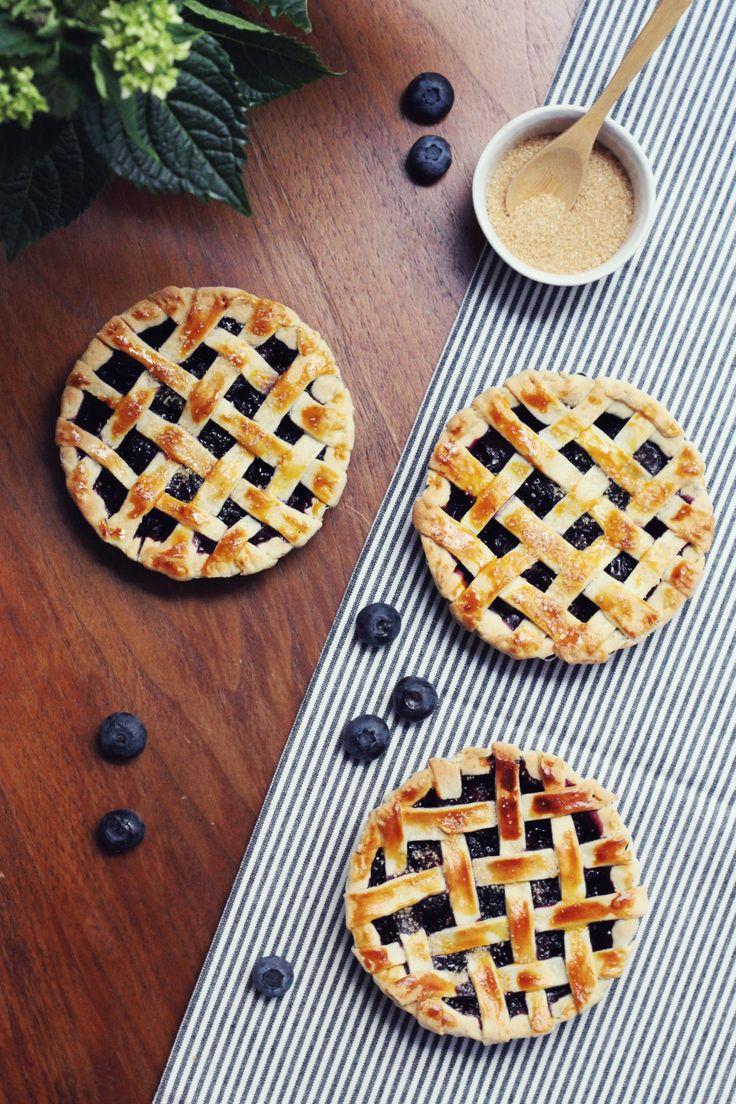 Mini pies aux myrtilles – Söta Salt