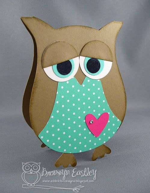 addINKtive designs: In Colour Basic Owl Card Making Kit