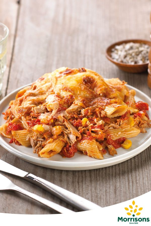 Find tuna pasta bake ready meal from our EatSmart 'counted' range available in selected stores