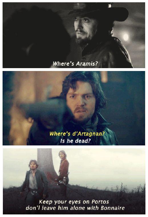 Athos, he cares <3