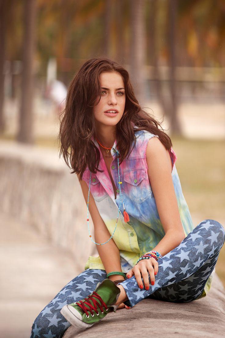 Alejandra Alonso for Calzedonia S/S 2013 campaign