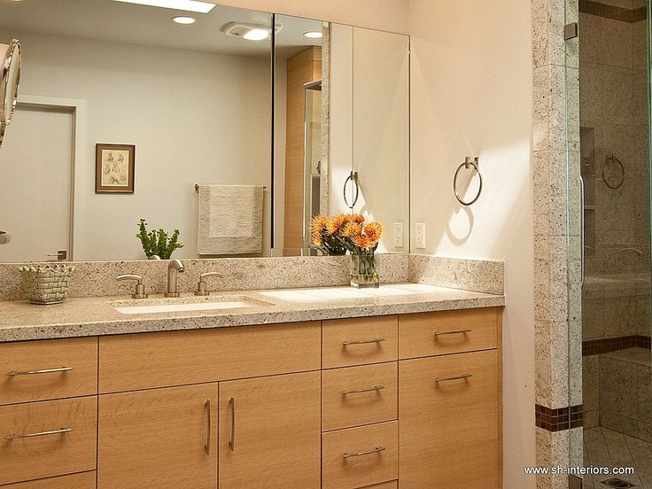 Countertops in the Bathroom: 15 Tips of Materials and Designs for Inspiration