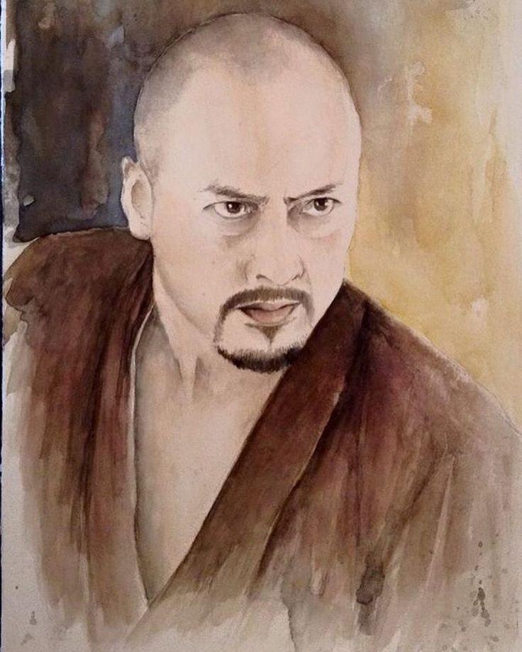 """L'ultimo Samurai "" ..""the last Samurai ""  #watercolor #KenWatanabe #LastSamurai #TomCruise #HiroyukiSanada #KoyukiKato #acquerello #wild #wildlife #acquerello #instagood #vsco #vscogood_ #vscocam #samurai #japan #me #model #love #realove #drawings #drawing #draw #artist #arte #follow4follow #cool #fotografia #instagrammers #portrait #foto"