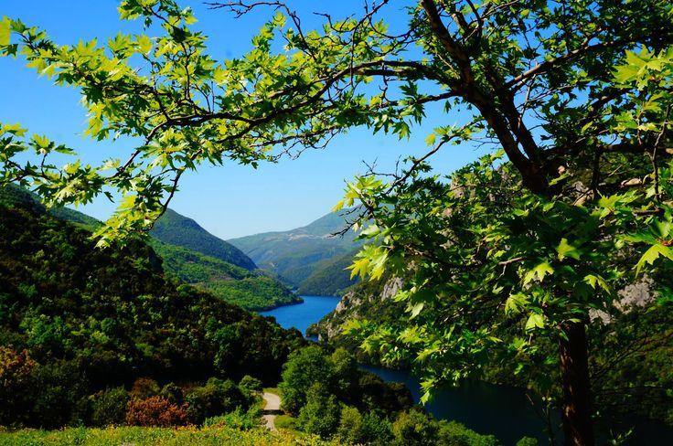 Macedonia, Stunning views of Aliakmonas River! Discover Veria Photo by Constantinos Vlahopoulos — in Veria, Imathia, Macedonia Greece.  The Macedonia of history