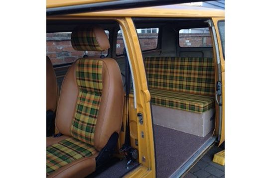 Gallery - Newton Commercial  SUFFOLK GT seats in westy fabric