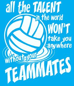 All the talent in the world won't take you anywhere without your teammates Color Motivational Tshirts