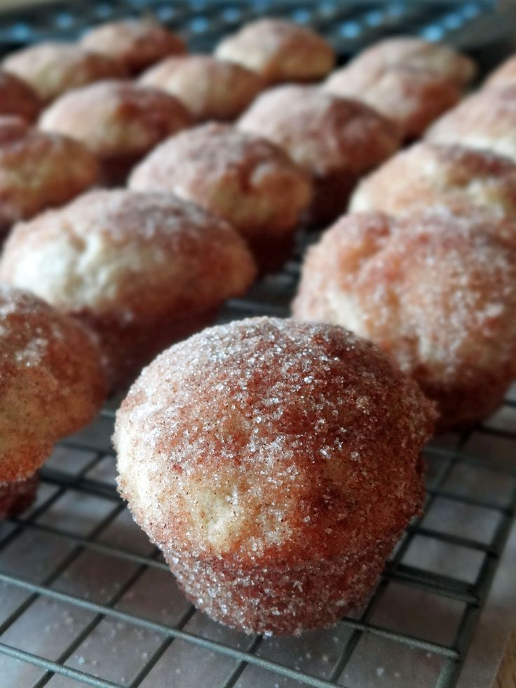 ... Bakery and Creamery's Cinnamon Sugar Donut Muffins « Just Baked