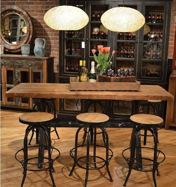 Vintage Industrial Bar Stools!