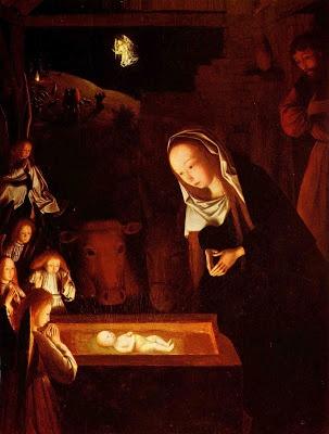 Geertgen tot Sint Jans (* um 1460/1465 in Leiden (?) – † vor 1495 in Haarlem), niederländischer Maler – Geburt Christi, um 1490