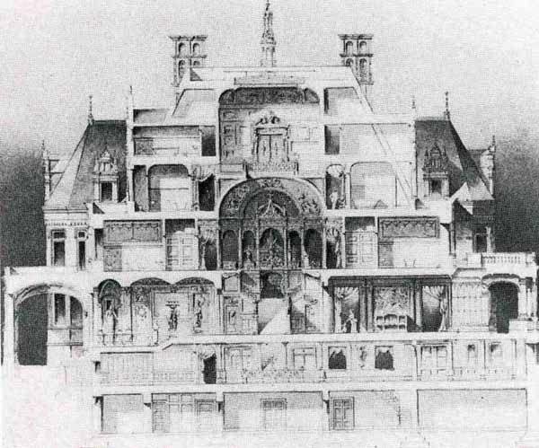 Mansions Cross Section And New York Architecture On Pinterest