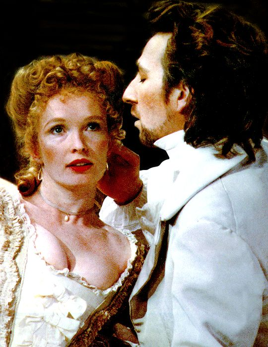 oh, but he was loved; Alan Rickman and Lindsay Duncan in the play Les Liaisons Dangereuses [1985-1987]