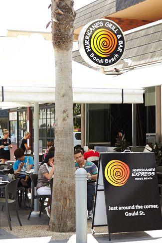 Hurricane's Express - Just around the corner from Hurricane's Grill Bondi Beach restaurant
