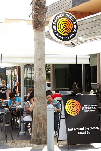Hurricane's Grill Bondi Beach Steakhouse and Hurricane's Express Takeaway just around the corner  #steakhouse restaurants