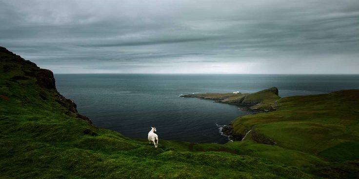 Dark & Stormy: Beautiful Landscapes of Scotland by Philipp Pohl #inspiration #photography