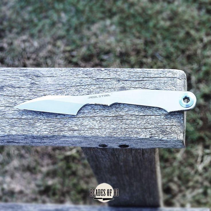 Real Steel Kiridashi Elmax Steel Fixed Blade Knife