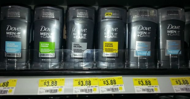 FREE Dove MenCare Deodorant With Overage At Walmart!