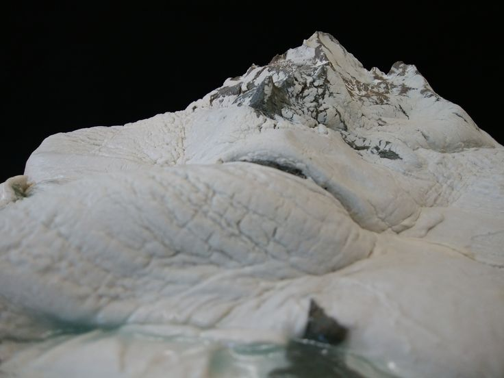 Naoki Takada  No.20 Mountains ceramic art which looks like Suiseki. #山岳写真 #山岳風景 #名峰 #陶芸 #陶彫  #ジオラマ #mountainart #mountainartist #artceramic #artpottery