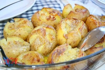 Картофель,запеченный по-португальски