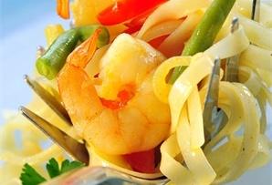 Krewetki królewskie z patelni / Pan-fried king prawns  www.winiary.pl