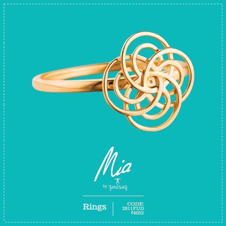 Rizty yet Simple. Exquisite diamond jewelry collections from Mia. Grab Upto 20% OFF on Mia's diamond Jewelry. #Mia #Diamond #Titan  Shop now: http://goo.gl/EmfTac