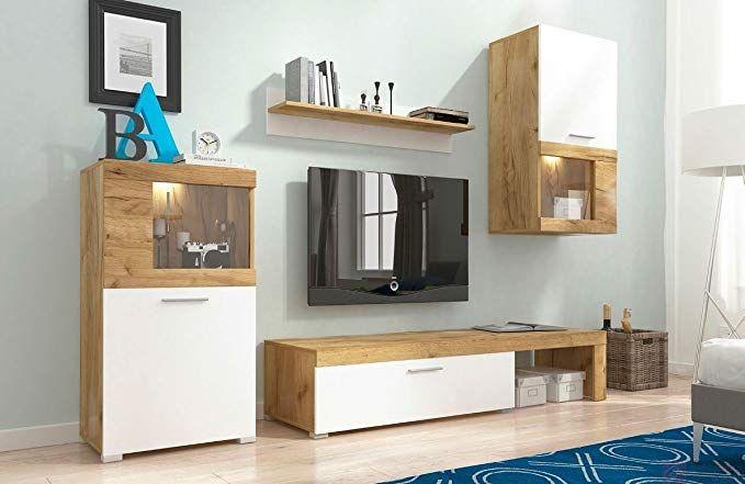 Home Direct Volk, Modernes Wohnzimmer, Wohnwände, Wohnschränke
