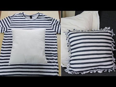 Estas 3 ideas para reciclar tu camiseta vieja sin coser te dejarán asombrado | Upsocl