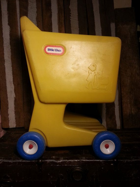Vintage Little Tikes Grocery Shopping Food Cart by UrsMineNours