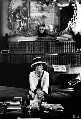 Coco Chanel  - 1883-1971  French fashion designer. One of the most inspirational style icons in history.
