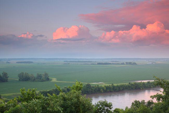 Four-State Lookout, White Cloud, Kansas