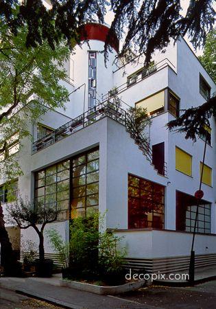Mallet-Stevens house, Paris Un autre rêve !