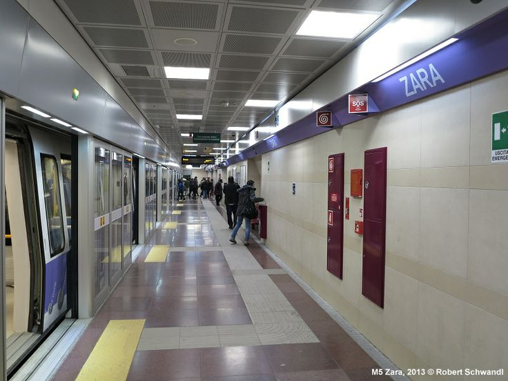 Zara station, line 5; this line was opened in 2013.