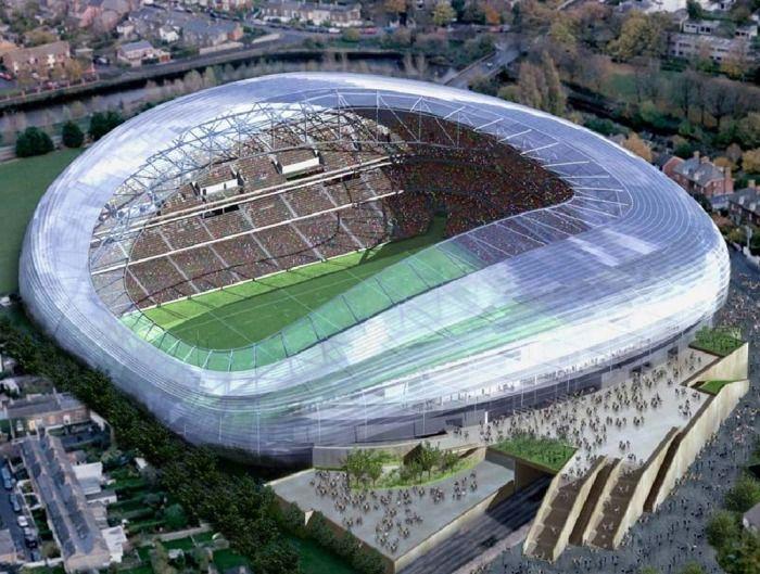 Aviva Stadium in Dublin (3 pics) - My Modern Met