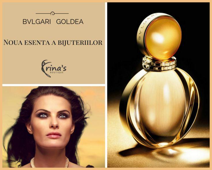 Simte-te ca o zeita cu noul parfum BVLGARI GOLDEA!  Design-ul deosebit al parfumului ne transpune in lumea zeitei aurului si a soarelui. Notele predominante ale parfumului sunt cele de mosc. In Antichitate, moscul reprezenta un adevarat lux, fiind mult mai pretios decat aurul.  Vino si lasa-te invaluita de aroma unica a parfumului GOLDEA, care te asteapta in magazinul Irina's Boutique, Str. Mihai Eminescu, nr.17, Bucuresti. #irinasboutique #bvlgari #goldea #bvlgarigoldea #parfum