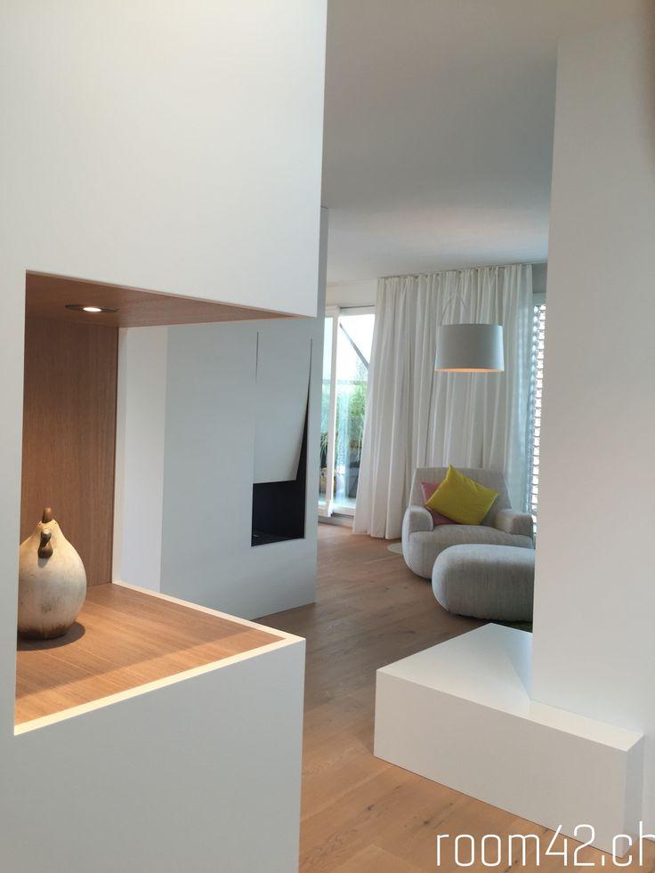 Die besten 25+ Zeitgenössische wohnzimmer Ideen auf Pinterest - offene feuerstelle wohnzimmer
