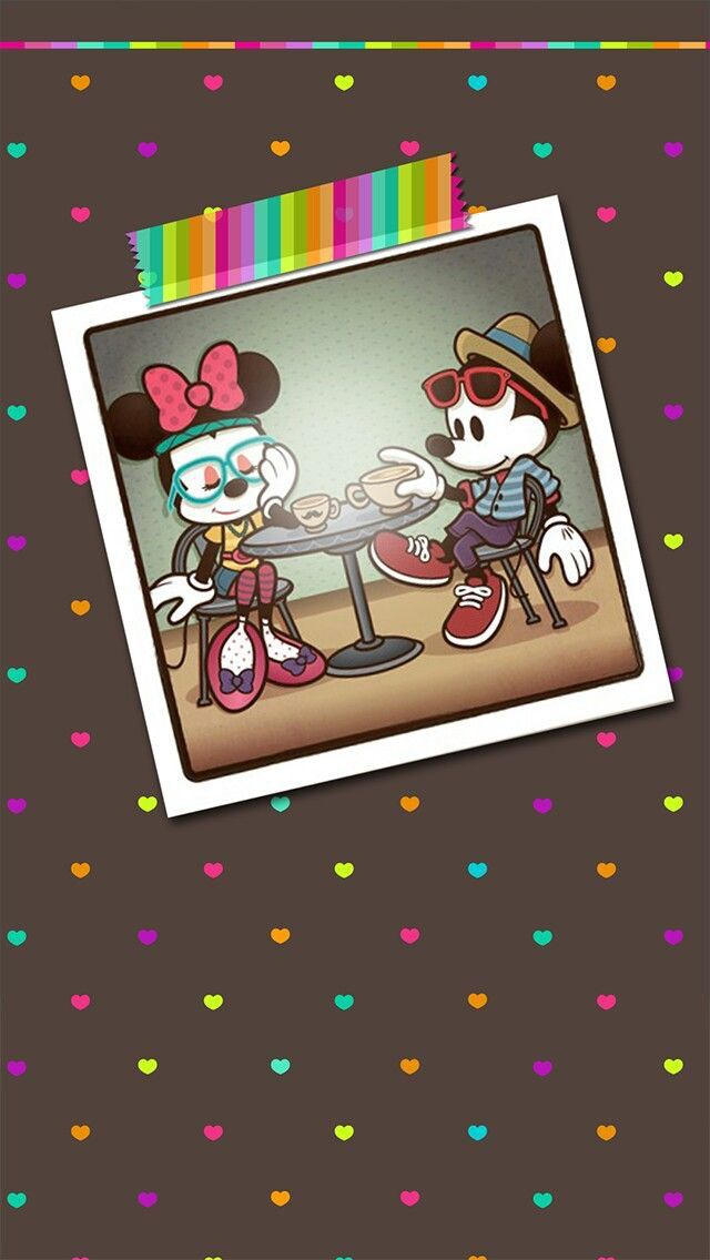 Vintage Mickey Mouse Iphone Wallpaper Image Via We Heart It