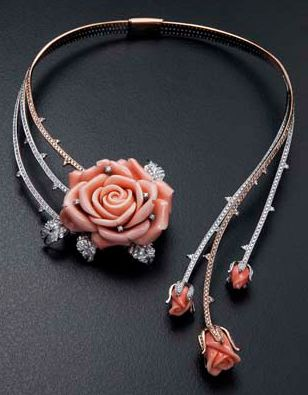 175 best coral jewelry images on pinterest coral jewelry coral tosa coral and diamonds necklace mozeypictures Image collections