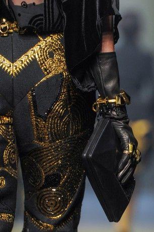 Accessoires du Défilé Jean Paul Gaultier Haute Couture Automne Hiver 2015 2016 Paris